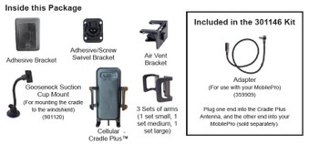 Wilson 301146 Phone Cradle Plus w/Antenna SMA / FME F