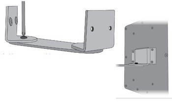 Wilson Corner Wall Panel Antenna Mount