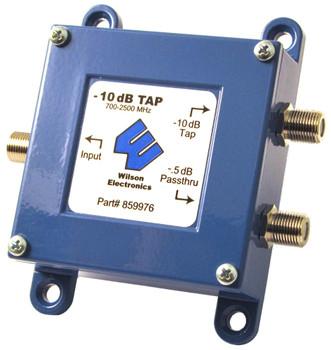 Wilson 859976 -10dB Tap -0.5 dB PassThru 700-2500MHz 75 OHM