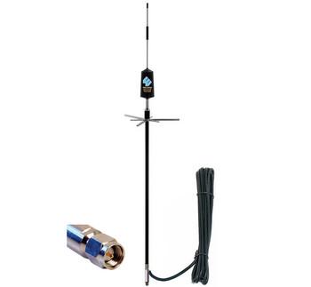 Wilson 311101 Trucker 3G Cellular Antenna Mirror/Pole Mount SMA M