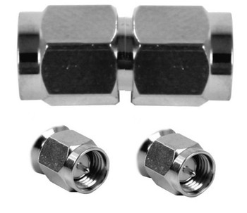 AW SMA Male / SMA Male Barrel Adapter