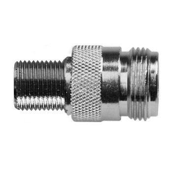 Threaded N Female To F Female Adapter