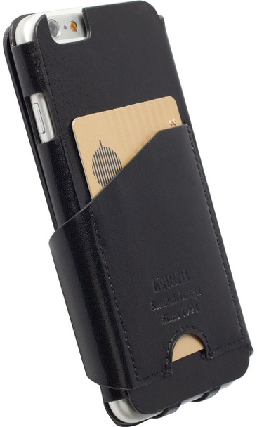 iPhone 6 FlipWallet Case Krusell Kalmar Black