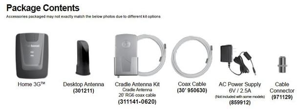 weBoost 473105 Home 3G Desktop Cell Phone Signal Booster
