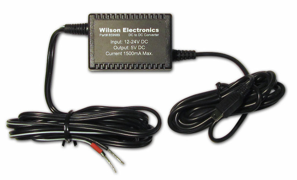 Wilson 460309 Signal 3G Booster Kit 4in Antenna [DC Power Supply]