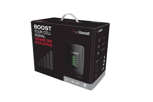 weBoost Connect 4G Building Signal Booster Surge Prot + Antenna Mount