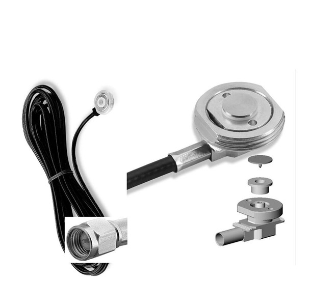Larsen HF NMO Mount With Cable