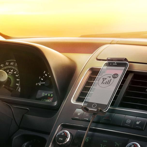 weBoost Drive Sleek Installed In Car