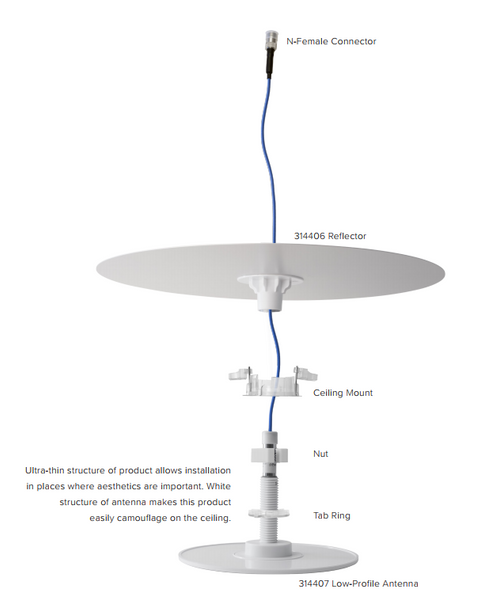 WilsonPro 4G Low-Profile Dome Antenna (AE314406)