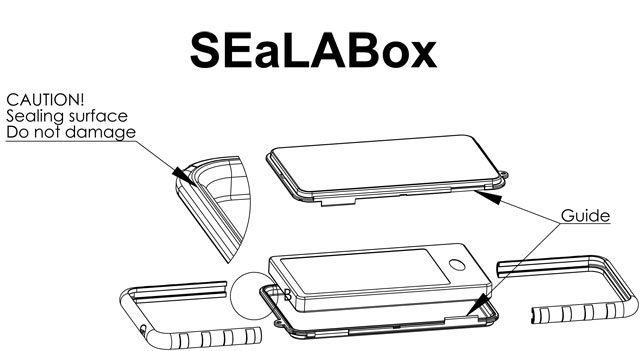 krusell sealabox case