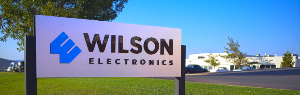 Wilson Electronics Sign