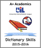 A+ Dictionary Tests from 2015-16