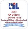 2013 CX Debate 2A Finals