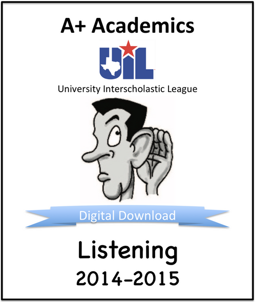 A+ Listening Tests from 2014-15