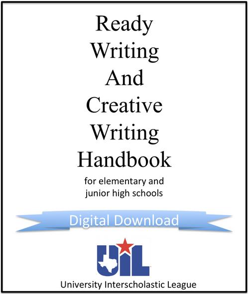 Ready Writing & Creative Writing Handbook for Elementary and Junior High Schools