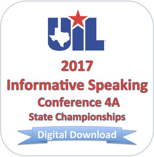 2017 Informative Speaking 4A Finals