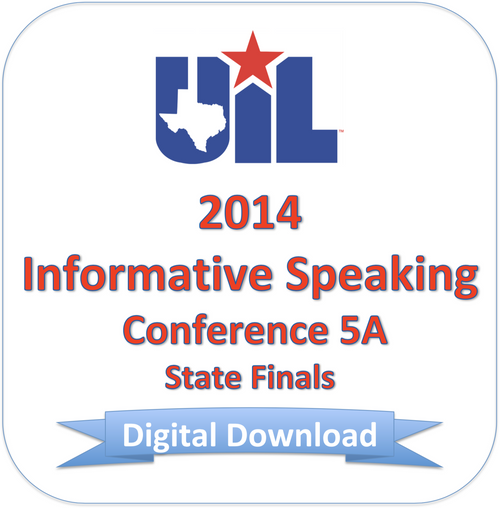 2014 Informative Speaking 5A Finals
