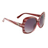 Women's Fashion Sunglasses DE705 Maroon Frame Colors