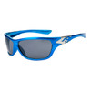 Wholesale Sports Sunglasses XS95 Metallic Blue & Silver Frame
