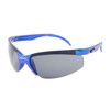 Wholesale Sport Sunglasses XS124 Metallic Blue Frame