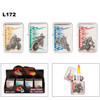 Assorted Motor-Cross Lighters with Flames L172