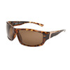 Polarized Sport Sunglasses XS602 Tortoise Frame w/Gold & Black