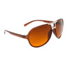 Blue Blocking Aviators 30414 Transparent Brown Frame