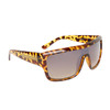 Single Piece Lens Unisex Sunglasses 6003 Tortoise Frame