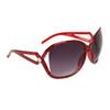 Large Frame Vintage Sunglasses 6018 Red Frame