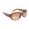 Leopard Print DE™ Sunglasses DE5007 Brown Frame