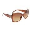 Vintage Sunglasses DE5008 Bronze Frame