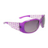DE™ Women's Fashion Sunglasses DE5016 Purple & White Frame