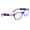 Wholesale Nerd Glasses 6000 Blue, Red & Clear