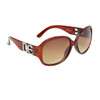NEW DE™ Fashion Sunglasses DE5000 Transparent Brown Frame