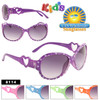 Girls Sunglasses with Hearts 8114