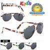 Kid's Aviator Sunglasses Wholesale Style #8119
