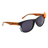 Animal Print California Classics with Whiskers & Bows! 8065 Black/Orange