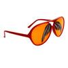 Mustache Glasses Wholesale - Style # 8037 Red/Orange