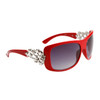 Wholesale Rhinestone Sunglasses - Diamond™ Eyewear - Style # DI143 Red