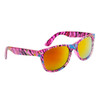 Wholesale California Classics Sunglasses by the Dozen - Style # 830 Pink with Gold Flash Mirror