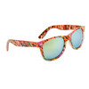 Wholesale California Classics Sunglasses by the Dozen - Style # 830 Orange with Flash Mirror