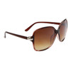 Vintage Fashion Wholesale Sunglasses - Style # 842 Brown