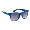 DE™ Designer Eyewear Wholesale Sunglasses - Style # DE725 Matte Blue with Blue Logo