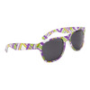 Sunglasses For Wholesale - Style # 8007 Purple/Lime Green