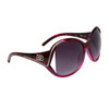 Women's Wholesale Fashion Sunglasses - Style # DE5070 Magenta Tortoise
