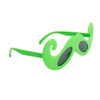 Mustache Sunglasses Wholesale - Style # 8040 Green