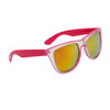 California Classics Sunglasses 8029 Magenta with Gold Flash Mirror Lens