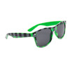 Plaid California Classics Sunglasses 8074 Green