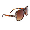 Large Lens Fashion Sunglasses DE5045 Tortoise
