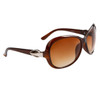 Women's Wholesale Designer Sunglasses - 8225 Brown